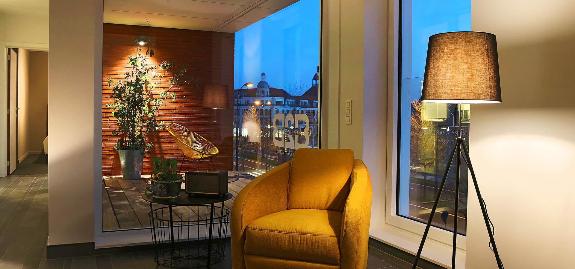Knokke - Apt 2 Slpkmrs/Chambres - B2B Luxury apartment